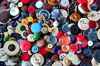 Colourful buttons.