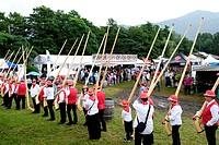 Switzerland, Canton Ticino, Gudo, folklore.