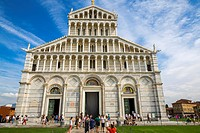 The cathedral of the Assumption, Piazza dei Miracoli, Pisa, Tuscany, Italy.