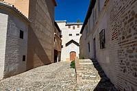 Monasterio Santa Isabel la Real, Granada, Andalusia, Spain, Europe.