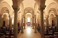Crypt of St. Nicola Pellegrino, Basilica Cathedral of St Maria Assunta, Trani, Puglia, Italy, Europe.