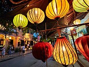 Lanterns in Hoi An Ancient Town. Quang Nam Province, Vietnam.