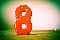 Number eight, 8.