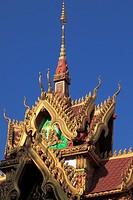 Laos, Vientiane, Wat Inpeng, buddhist temple,.