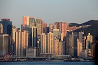 China, Hong Kong, Causeway Bay, skyline,.