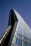 Zaha Hadid CMA CGB Tower in Marseille in Provence in Bouches du Rhone in France in Europe.