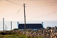 Ireland, County Donegal, Fanad Peninsula, Fanad Head, landscape.