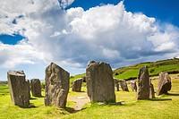 Ireland, County Cork, Drombeg, Drombeg Stone Circle, 5th century.