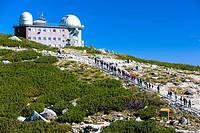 observatory at Rock Tarn (Skalnate pleso), Vysoke Tatry (High Tatras), Slovakia.