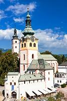 Town Castle (Barbakan), Banska Bystrica, Slovakia.