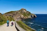 San Juan de Gaztelugatxe, Bermeo, Biscay, Basque Country, Spain.