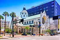 The Sacred Heart Catholic Church in downtown Tampa FL.