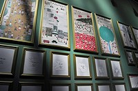 Bologna, Italy: Asian stand at Bologna Children´s Book Fair