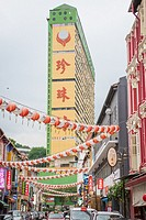 In the Chinatown section in Singapore.