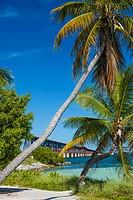 Old Bahia Honda Rail Bidge part of the Overseas Railway built by Henry Flagler in the Florida Keys.