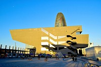 Disseny Hub Barcelona, Design Hub Barcelona, DHUB. Plaça de les Glòries, Poblenou, 22@, Barcelona, Catalonia, Spain