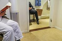 STOCKHOLM, SWEDEN waiting room, doctor's office.