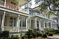 South Carolina, SC, Charleston, College of Charleston, university, Greek life, Pi Kappa Alpha, Sigma Chi, fraternity houses, exterior,