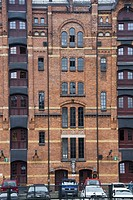 1920s warehouse district of Speicherstadt, Hamburg, Germany.