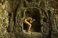 cueva de la Mare de Deu, cala de Portals Vells, Calvia, Mallorca, Balearic Islands, Spain