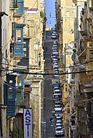 Malta, World Heritage Site, Valletta.
