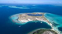 Aerial View, pirate cay Waterscape Archipelago los roques venezuela