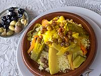 Morocco, Food, Couscous