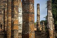 Wat Sa Si, in Sukhothai Historical Park, Sukhothai, Thailand.