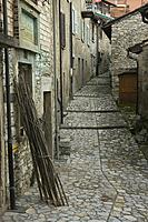 A Narrow Street of Old Lugano