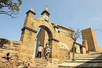 Ermita de la Dolorosa y Las Torres. Mora de Rubielos. Camino del Cid. Aragón.