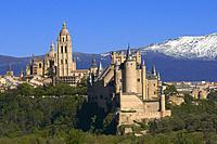 Cathedral, Segovia, Castilla-Leon, Spain.