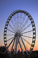 Canada, Quebec, Montreal, Old Harbor, Ferris Wheel,.