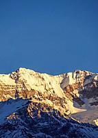 Aconcagua Mountain, sunrise, Aconcagua Provincial Park, Central Andes, Mendoza Province, Argentina.