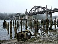 Florence Oregon Bridge. USA
