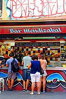 bar Mendizabal, Ciutat Vella, Barcelona, Catalonia, Spain