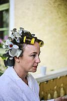 MEDEVI, SWEDEN Wedding preparations.