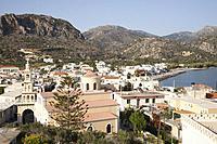 Paleohora village, Crete island, Greece, Europe.