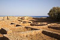 Paleohora village, Venetian Castle, Crete island, Greece, Europe.