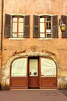 macaroon shop, Annecy, Haute-Savoie department, Auvergne-Rhône-Alpes, France.
