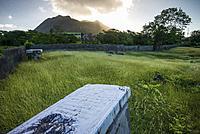 Netherlands, Sint Eustatius, Oranjestad, Jewish Cemetery, used from 1742-1843, gravestones.