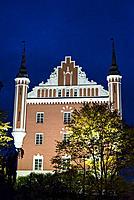 Admiralty House, island of Skeppsholmen, Stockholm, Sweden.