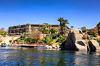 Nile cruise, Aswan Egypt