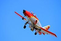 CASA c-101 Aviojet aircraft. Patrulla Aguila. Spanish Air Force Aerobatic Team
