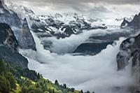 The paradise in the alps. Lauterbrunnen valley, Switzerland. An incredible place.