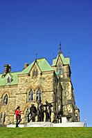 Parliament Buidings, Ottawa, Ontario, Canada.
