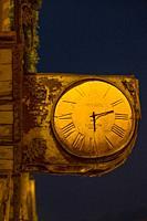 Spain, Province of Valencia, old clock at Xativa.