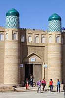 The Entrance To The Kunya Ark Fortress, Khiva, Uzbekistan.