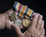 Bar of Three First World War Service Medals.