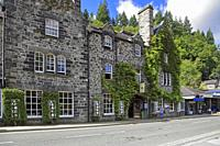 The Royal Oak Hotel, Betws-y-Coed, Snowdonia National Park, Conwy, North Wales, UK.