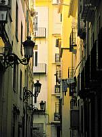 Architecture of the historic center, Valencia, Spain